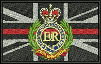Fire Service Embroidered Badge